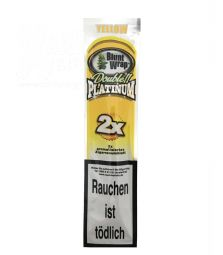Blunt Wrap Double Platinum | Yellow | 2er