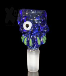 Skull Bowl Blue | 18,8 Flutsch