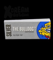 The Bulldog Silver | breite Filter Tips