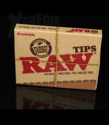 RAW | vorgerollte Filter Tips | ungebleicht