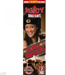 Juicy | Double Wraps Blunts | Black Russian | 2er Pack