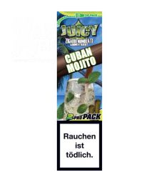 Juicy Double Wraps Blunts, Cuban Mojito