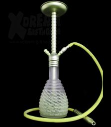 Al-Mani Shisha | SBD-2 | Light Green