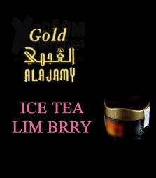 Al Ajamy Gold - ICE TEA LIME BERRY - Shisha Tabak - 200g