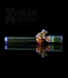 Glaspfeife | One-Hitter | Frosch M26 | Unikat