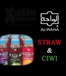 Al Waha Molasse | Straw & Ciwi | 250 ml
