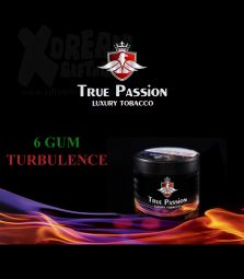 True Passion Tobacco | 6 GUM TURBULENCE | 200g