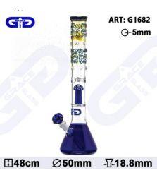 Grace Glass OG Series | Golden Grip | 48 cm | 18,8er Schliff | mit Diffusion