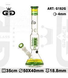 Grace Glass OG Series | Bermuda Triangle | 35 cm | 18,8er Schliff | mit Diffusion | mit Eis