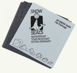 Snow Seals Black | 95 x 95 mm | 100 St.