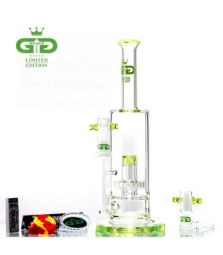 GRACE GLASS LIMITED EDITION Kit | Lime Straight | 30 cm | zwei Wasserstufen