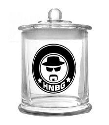 HEISENBERG | Glas mit Deckel | 420 ml