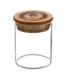 Glas mit Bambus-Deckel | 180 ml
