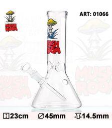 Mushroom Beaker | Glass Bong | 23 cm | 14,5er Schliff | mit Eisfach