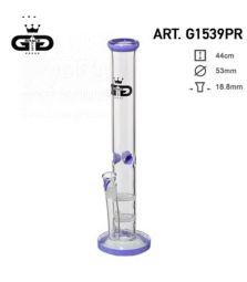 Grace Glass | Straight Purple | 45 cm | 18,8er Schliff