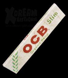 OCB Organic Hemp Slim | King Size | zu 100% Bio-Hanf
