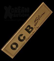 OCB Premium Slim Oro | goldene King Size Longpapers