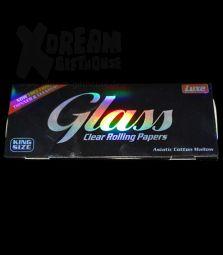 Glass Clear | King Size | aus natürlicher Zellulose