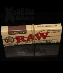 RAW Connoisseur Queen Size | 1 1/4 Medium Size + Filter