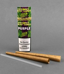 Cyclone | Hemp Cones | Purple
