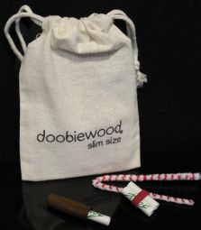 doobiewood® | Spliffadapter | Black Walnut | Slim Size