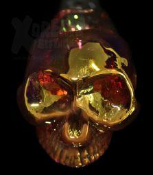 Golden Skull Pipe | Einzelstück