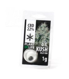 CBD Jelly Hash   O.G. Kush   22 %