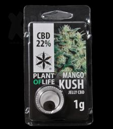 CBD Jelly Hash | Mango Kush | 22 %