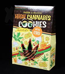 Euphoria | High Cannabis Cookies mit CBD | Chocolate
