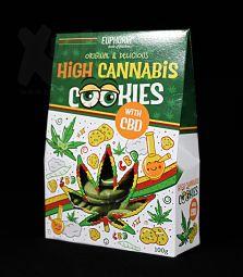 Euphoria | High Cannabis Cookies mit CBD