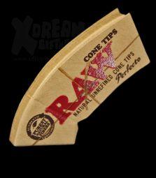 RAW Cone Shaped | konische ungebleichte Filtertips
