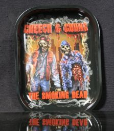 Metall-Drehtablett | Cheech & Chong - The Smoking Dead | MINI