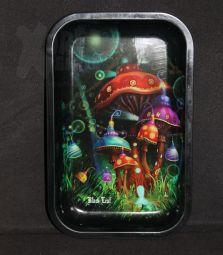Metall-Drehtablett | Mushroom | 275 x 175 x 25mm