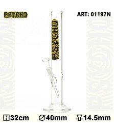 PSYCHO | Glass Bong | H: 32cm