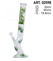 Leaf | Leaf Jhari Hangover Glass Bong | H: 45cm