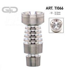 Grace Glass | Titanium domeless nail | Schliff: 14.5mm/18.8mm (male)