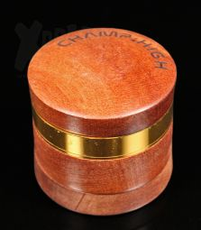 Champ High Wooden | Alu-/Holzgrinder | 4 tlg.