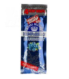 Royal Blunts | Blue Berry | 4 Blunt Wraps