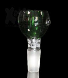 Glaskopf | Boost Steckkopf grün | 14.4 Schliff