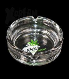 Glas-Aschenbecher | Cannabis