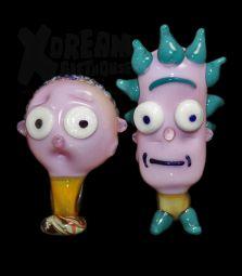 Rick & Morty Pipes   Einzelstücke