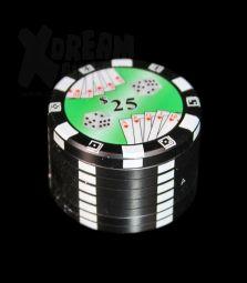 Dreamliner Grinder | Pokerchip Black | 3 tlg.