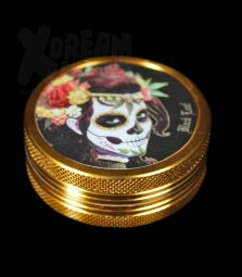 Black Leaf Grinder | Mexican Skull | 2 tlg.