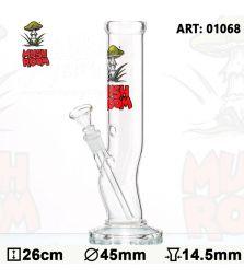 Mushroom | Bolt Glass Bong | 26cm
