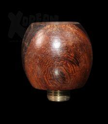 Holz Kopf | Braune Kugel