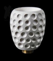Holz Kopf | Weiße Kugel | Golfballstyle